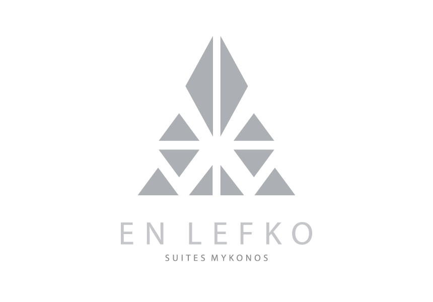 Logo Design for En Lefko Suites Mykonos