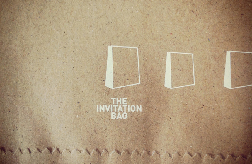 The invitation bag