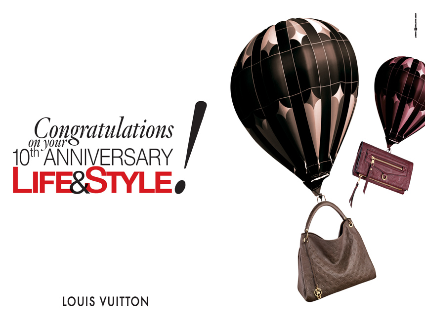 Louis Vuitton wishes.