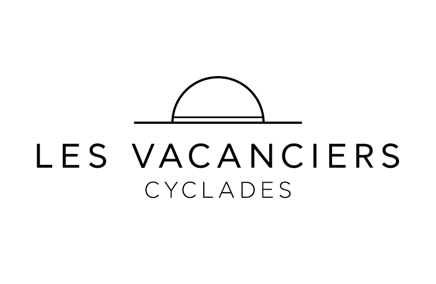 Logo for Les Vacancies an upcoming fashion brand in Mykonos