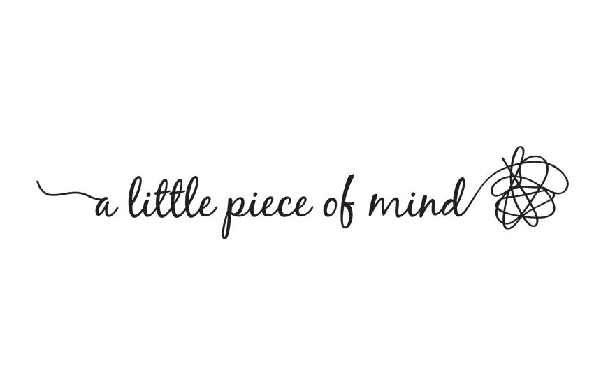 a little piece of mind logo