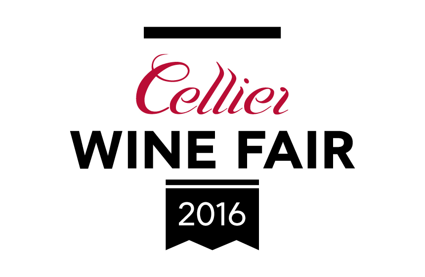 Logo for the Cellier Wine Fair
