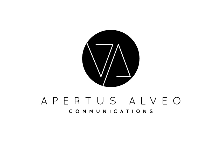 Logo Design Apertus Alveo Communication