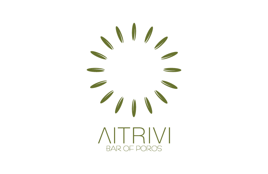 Logo design for Bar Litrivi at Poros Island