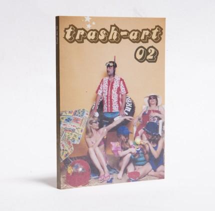 Trash art 2002 booklet cover
