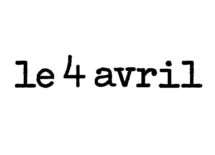 Le 4 Avril logo