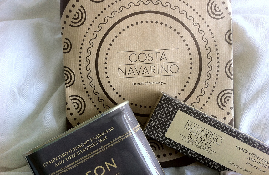 Costa Navarino Typography: Goody Bag with Selected Products