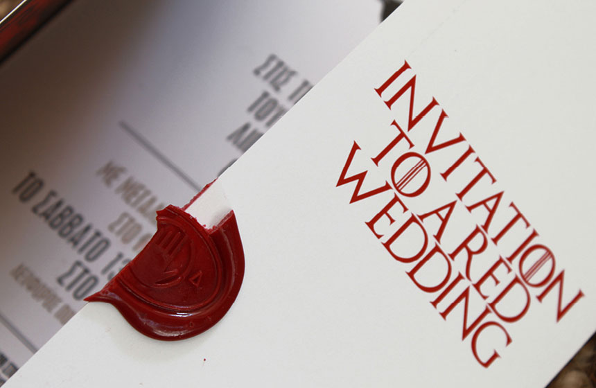 Red Wedding in Athens: Sealing Wax