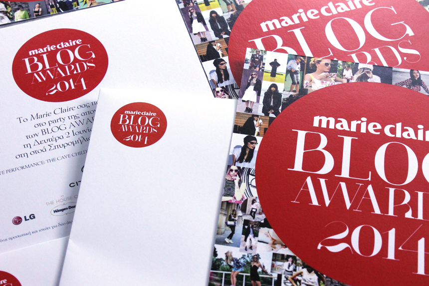 marie claire blog awards 2014