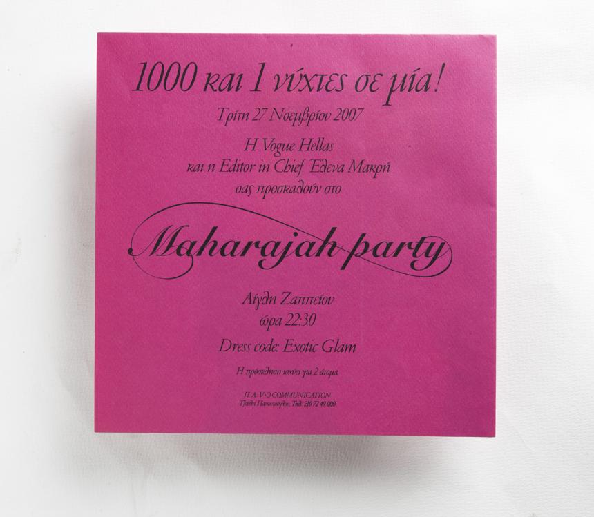 vogue maharajah party 2