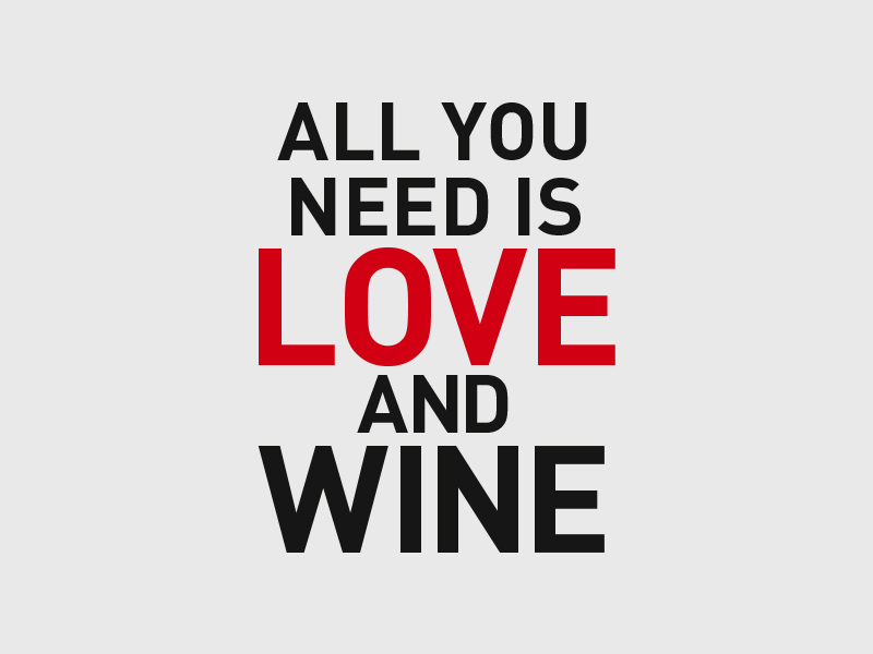 cellier all you need is love and wine